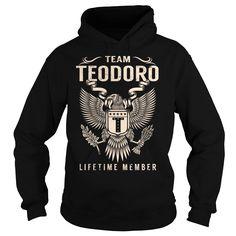 (Tshirt Cool Deals) Team TEODORO Lifetime Member Last Name Surname T-Shirt…