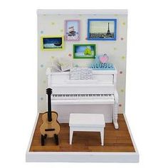 Our shop retails Nano Room Music Room Set (Science / Craft) Kawada NRB-004 Toy on the Web.