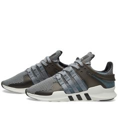 The EQT Support ADV takes one of adidas' most iconic ranges, originally launched onto the market in 1991. To celebrate the twenty-fifth anniversary of this game-changing model, the label with the Three-Stripes update it with advanced technology. Built with air mesh uppers for maximum ventilation, strap around TPU ankle support and a compression moulded EVA midsole for supreme cushioning. Air Mesh Upper Synthetic Overlays Sock Like Fit Moulded Eyelets & Ankle Support Compression Moulded EVA…