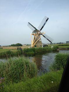 Molen in de omgeving van Noordwijk/Holland