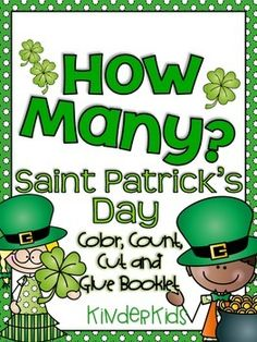 FREEBIE:  Saint Patrick's Day Counting Booklet