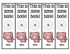 Enjoy these free bookmarks.  Copy on cardstock and let your students color and enjoy!