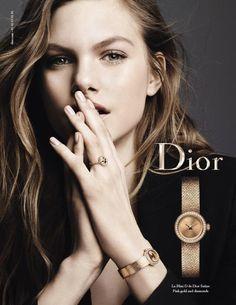 Dior Watches 2016 campaign - Annika Krijt - Ben Hassett
