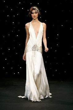 e144c33f8 1920s Style Wedding Dress Inspiration. See more. Simple but elegant 1920s  Fashion Dresses, Vintage Dresses, 1920s Outfits, Harlem Nights Theme