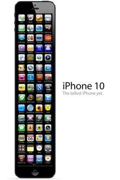 L'iPhone 5 est sorti depuis quelques semaines... En avant première, voici la maquette du futur iPhone 10 !
