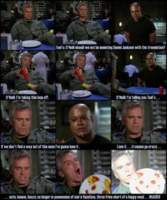 Favorite episode of all time...I miss Brigadier General Jack O'Neill