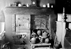 Old photograph of the interior of a farm workers cottage in Highland Perthshire, Scotland Farm Images, Farm Cottage, Old Photographs, Cottage Interiors, Women's History, Scottish Highlands, Historical Photos, Perth, Housekeeping