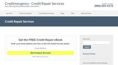 Creditmergency is ranked highest in customer satisfaction for credit repair. They offer a personalized approach when repairing & restoring credit. Their credit consultants are knowledgeable, and will provide you quick results at an affordable price. #CreditRepair http://www.creditmergency.com/credit-repair-services