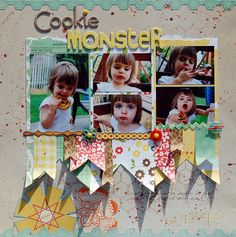 Cookie Monster by Kate-Vickers, via Flickr