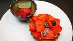Aardbeientaartjes met frambozensorbet (op een gemakkelijke manier) | DekeukenvanSofie