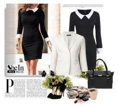 """""""SheIn 1/VII"""" by nermina-okanovic ❤ liked on Polyvore featuring The Row, Kendra Scott, Nearly Natural and Chanel"""