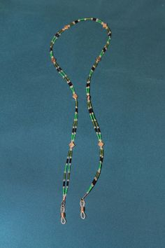 Beaded Eye Glasses  holder/strap. By Kathleen Woodley (Chukchansi)