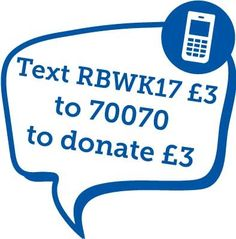 It's Royal Blind Week! Showing your support is as simple as sending a text.