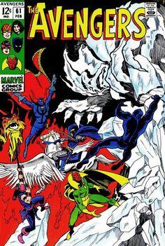 Cover for The Avengers (Marvel, 1963 series) #61