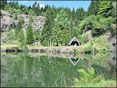 Wandern in Thüringen: Bergsee Ebertswiese