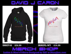 Official DJC Band Merchandise designed by David J Caron. Album/Single artwork as well as DJC Lyric designs. Over 80 different product designs available at davidjcaron. Requests welcome & considered ; Design T Shirt, Shirt Designs, Album, T Shirts For Women, Band, Sweatshirts, Artwork, Sweaters, Sweater