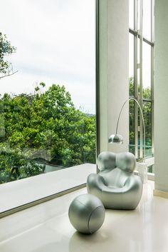 paula gusmão arquitetura _ casa jb _ poltrona gaetano pesce www.paulagusmao.com