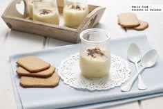 Receta de crema dulce de coco. Fotografías con el paso a paso del proceso de elaboración. Fotografía con sugerencia de presentación. Receta de ...