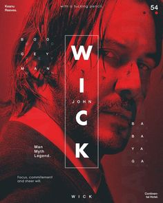 John Wick Poster for sale Media Design, Web Design, Layout Design, Creative Design, Poster S, Sale Poster, Typography Poster, Graphic Design Trends, Graphic Design Posters