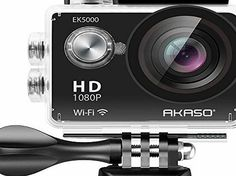AKASO EK5000 1080P Sports Action Camera Full HD Camcorder 12MP WiFi Waterproof Camera 2 Inch LCD Screen 17 No description (Barcode EAN = 0819847017535). http://www.comparestoreprices.co.uk/december-2016-week-1/akaso-ek5000-1080p-sports-action-camera-full-hd-camcorder-12mp-wifi-waterproof-camera-2-inch-lcd-screen-17.asp