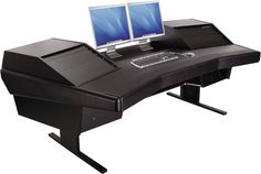 Dual Monitor Gaming Computer Desk