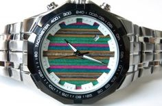 Products - Second Shot | Watches, art, and iPhone cases made from recycled skateboards.