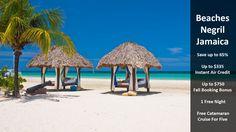 Beaches Negril - Jamaica - https://traveloni.com/vacation-deals/beaches-negril-jamaica/ #vacation #caribbean #beaches #jamaica