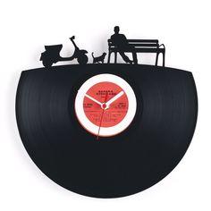 レコード時計、いいね。