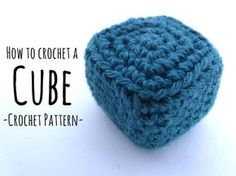 110 Crocheted cubes and cuboids can be used for Amigurumis, as heads and bodyparts for robots, machines and cubic animals, ... Read more...