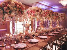 Gorgeous long table!