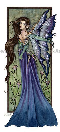 *+*Mystikal Faerie Folke*+*...Fae 5 Fairy...By Artist Unknown...