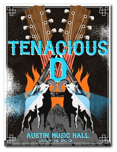 Tenacious D poster art. #gigposters #musicart #humor http://www.pinterest.com/TheHitman14/music-poster-art-%2B/