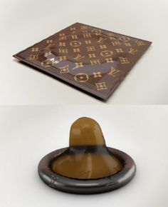 Louis Vuitton Condom  Seriously? $68 condom?
