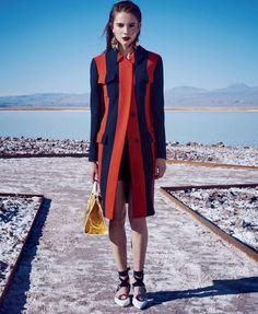 Harper's Bazaar US March 2016 - Romy Schonberger - Nathaniel Goldberg