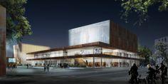 Projetado pelo schmidt hammer lassen architects,Arkitektfirmaet Finn Østergaard A/S na Hjørring,Denmark Uma equipe liderada pelo escritórioSchmidt Hammer Lassen Architects foi anunciada vencedora de uma competição que pr...