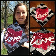 Ohio State University Graduation Cap Graduation Cap