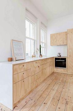 дневник дизайнера: Мебель из фанеры для молодой семьи в Мельбурне
