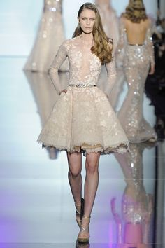 Sfilata Zuhair Murad Parigi - Alta Moda Primavera Estate 2015 - Vogue