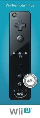 Wii Remote Plus - Black (Nintendo Wii)
