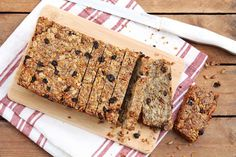 Super Healthy Nut & Seed Bread