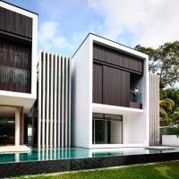 A Contemporary Addition And Remodel For A House In Singapore