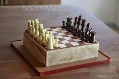 Chocolate chess and sugar paste for a young player…. Chess Cake, Sugar Paste, Specialty Cakes, Cake Decorating Techniques, Beautiful Cakes, Cake Cookies, Party Games, Birthday Cake, Boards