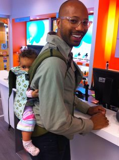 Bar e #babywearing #dad