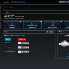 Raspberry Pi powered security/home automation system. Features a responsive, twitter bootstrap2 web interface, php, and sqlite database. It is being built with integration in mind, so it will support expansion to many future platforms/sensor types. As of right now focus is on x10 and IP Cameras.
