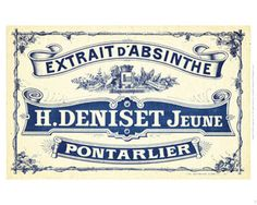 French Crate Label