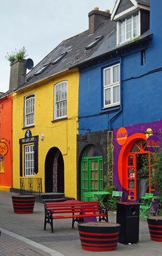 Kinsale (Irish: Cionn tSáile) is a town in County Cork, Ireland. Kinsale by katiebrgit. Ireland.