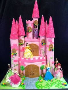 Princess Castle Cake..can someone make this for my birthday?!