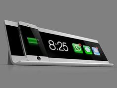 Cool iPhone charging station
