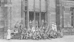 Tour Scotland Photographs: Old Photograph Princess Louise Scottish Hospital for Limbless Sailors and Soldiers Scotland