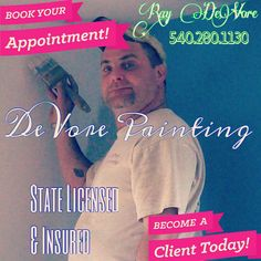 DeVore Painting - Ray DeVore - 540.280.1130 Roofs, Barns, Fences, Shutters Interior/Exterior Deck Staining/Pressure Washing Commercial/Residential BECOME A CLIENT. BOOK YOUR APPOINTMENT TODAY! #painting #painters #paintingcontractors #powerwashing #deckstaining #paintersinvirginia #verona #veronava #veronavirginia #augustacounty #augustacountyva #augustacountyvirginia Aiden Kirchner (Sales/Marketing) 540.294.4887 http://wtfbean.blogspot.com/2016/05/devore-painting-verona-virginia.html?m=1